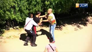 دزيري و فحل الحلقة 07 / ماذا فعل الجزائري عندما رأى لص يسرق ويهرب...!!!!