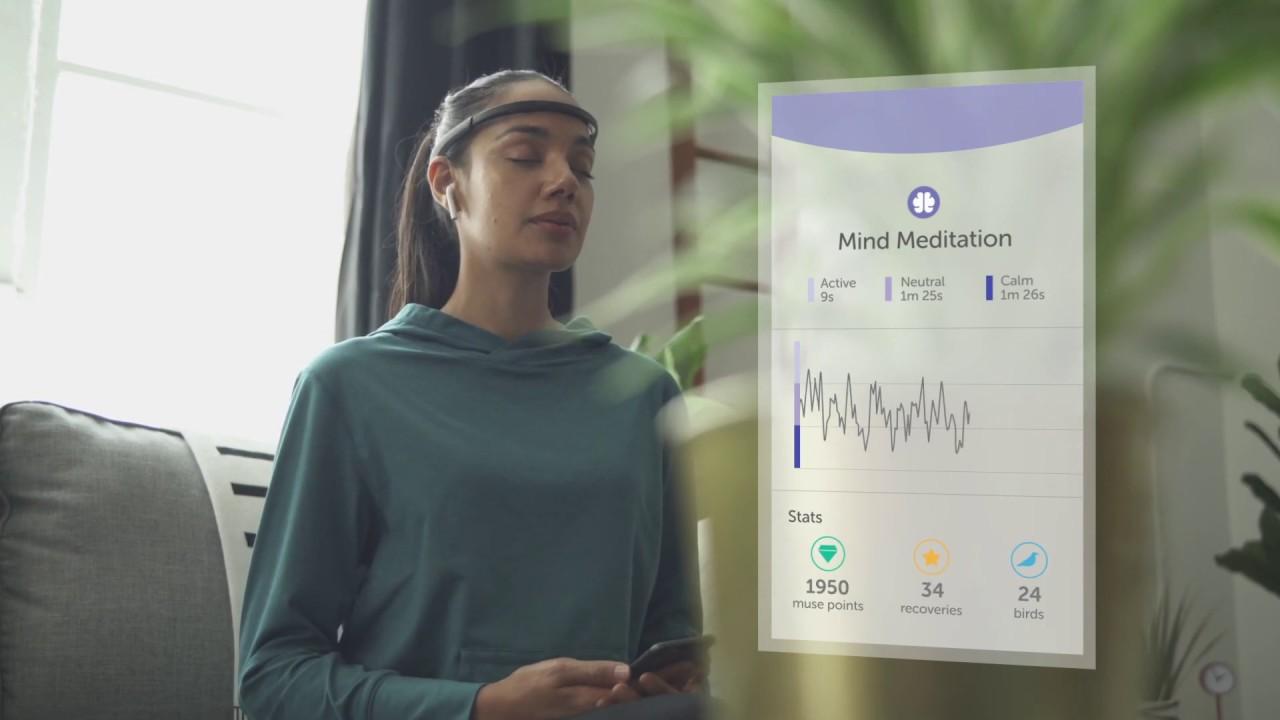 Muse 2 // Brain-Sensing Headband + V2 Case video thumbnail