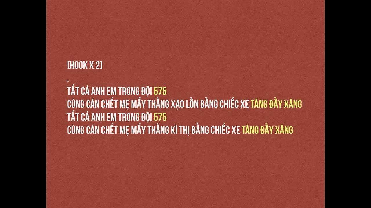 Download [Rhyme Check] 575 Tài Cán by Phúc Du