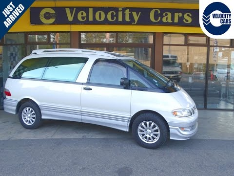 1998 Toyota Previa 69K's AWD 7 seats TWIN-SUNROOF for sale in Vancouver, BC, Canada