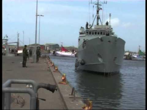 Besøg hos Marine-Hjemmeværnet i Hvide Sande
