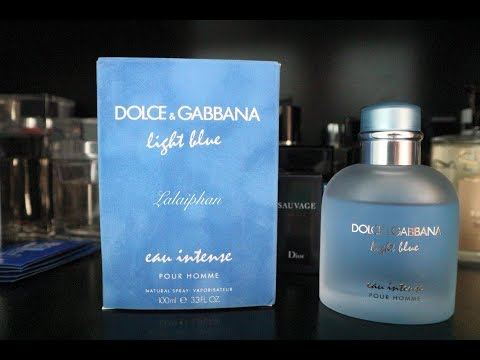 รีวิวน้ำหอม DOLCE & GABBANA LIGHT BLUE EAU INTENSE POUR HOMM