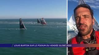 Yvelines | Louis Burton sur le podium du Vendée Globe