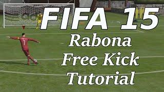 FIFA 15 |  Rabona Free Kick Tutorial (Direct)