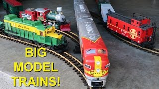 Big Model Trains Running Through The Front Door