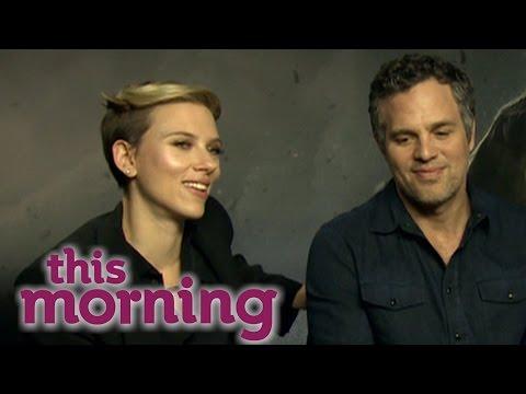 The Avengers: Scarlett Johansson and Mark Ruffalo Interview   This Morning