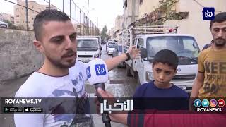 وفاتان صعقا بالكهرباء إثر الحالة الجوية في مخيم الحسين