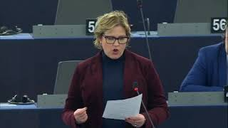 Karin Karlsbro 13 Jan 2020 plenary speech on organised crime