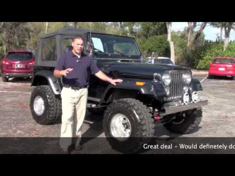 Sold 1982 Jeep Cj7 For Sale 33 Inch Super Swampers Navigation
