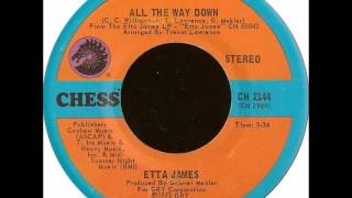 "Etta James ""All The Way Down"""