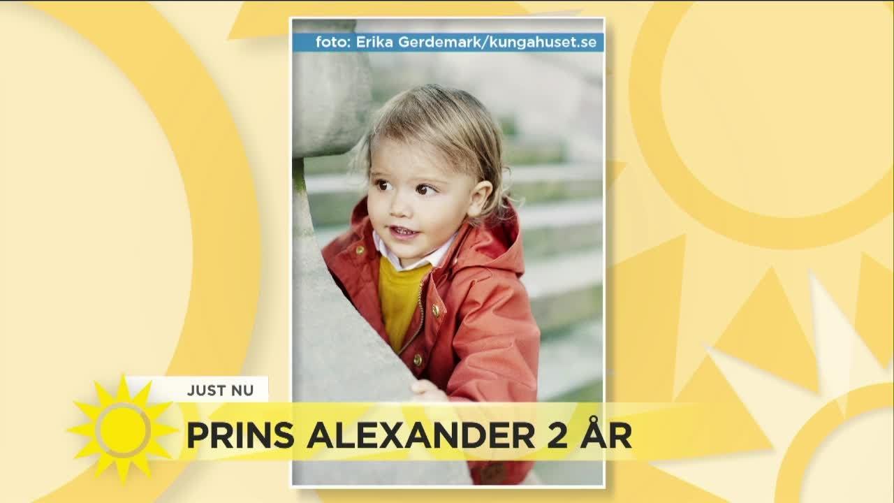 fyller år se Prins Alexander fyller år – se de nya bilderna   Nyhetsmorgon (TV4  fyller år se
