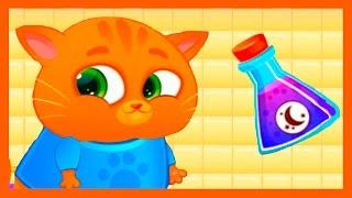 Котенок БУБУ #16 Bubbu – мой виртуальный питомец - мультик игра видео для детей.