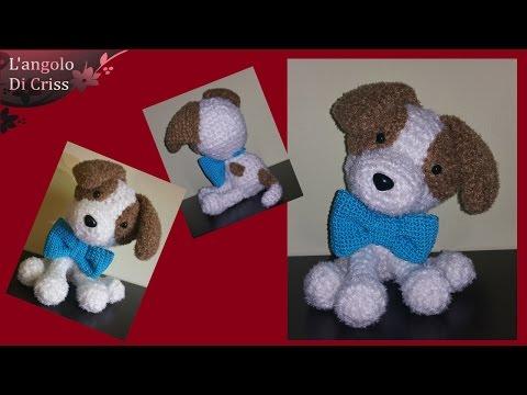 Cagnolino Jack Russel all'uncinetto/amigurumi - Dog amigurumi - perro  amigurumi