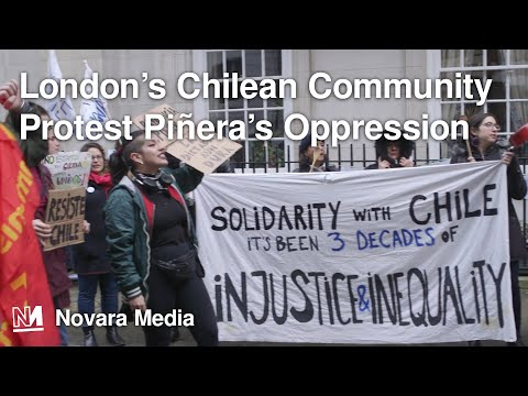London's Chilean Community Protest Piñera's Oppression