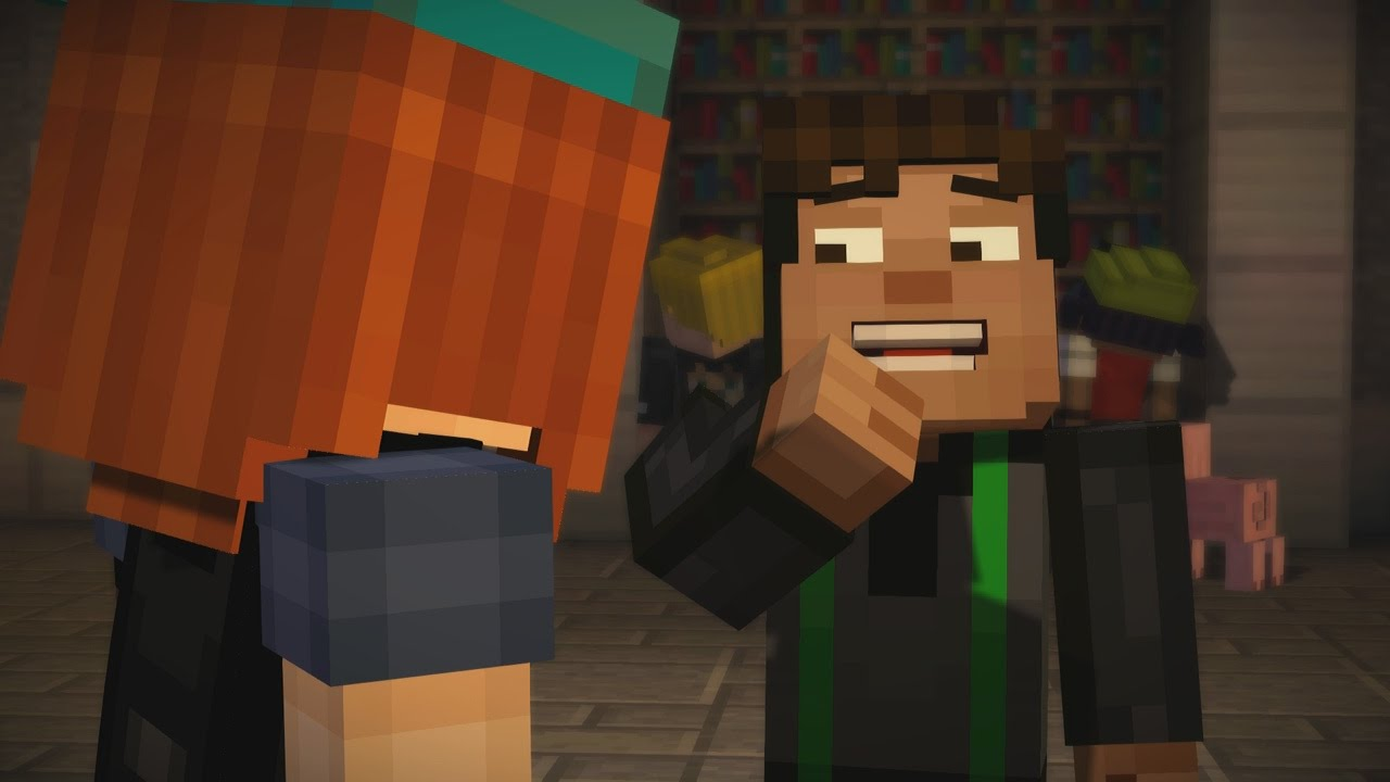 Minecraft Xbox Story Mode Jesse And Petras Love Ep3 P1