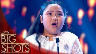 8 Year Old Opera Singer Shanaia Duets With Mirusia Louwerse | Little Big Shots