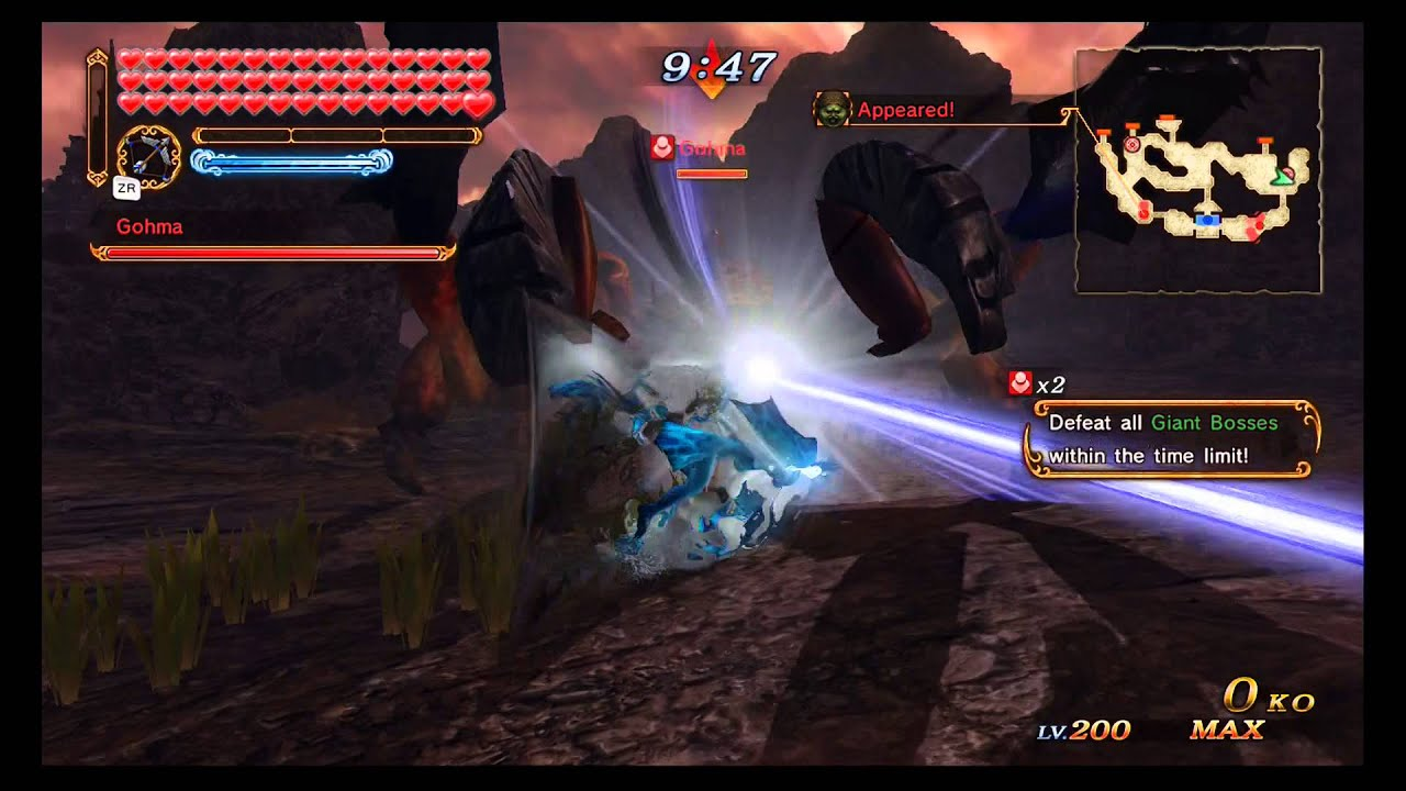 How to defeat gohma in hyrule warriors - Hyrule Warriors Max Rupees Glitch Ruto W Hasty Attacks