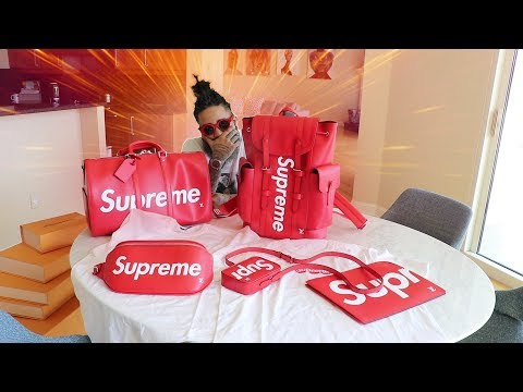 MY LOUIS VUITTON x SUPREME PICK UPS!!!!!!!!!!!!!