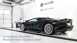 High End Detailing Lamborghini Aventador S Roadster Finest Signature Detail