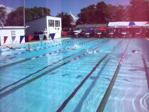 Donte Miller and Joshua Backstroke at Northern Bahamas Short Course Swim Championships