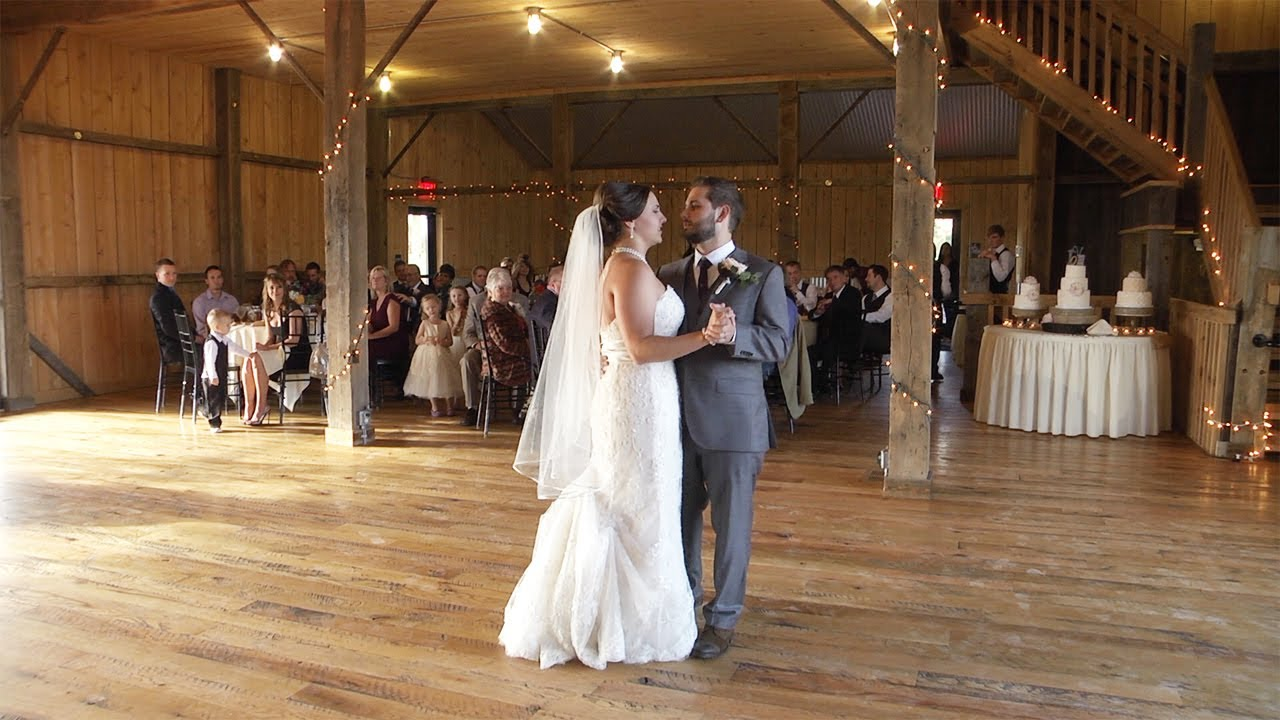 Outdoor Wedding Ceremony at The White Barn in Prospect PA  Pifemaster Productions  YouTube