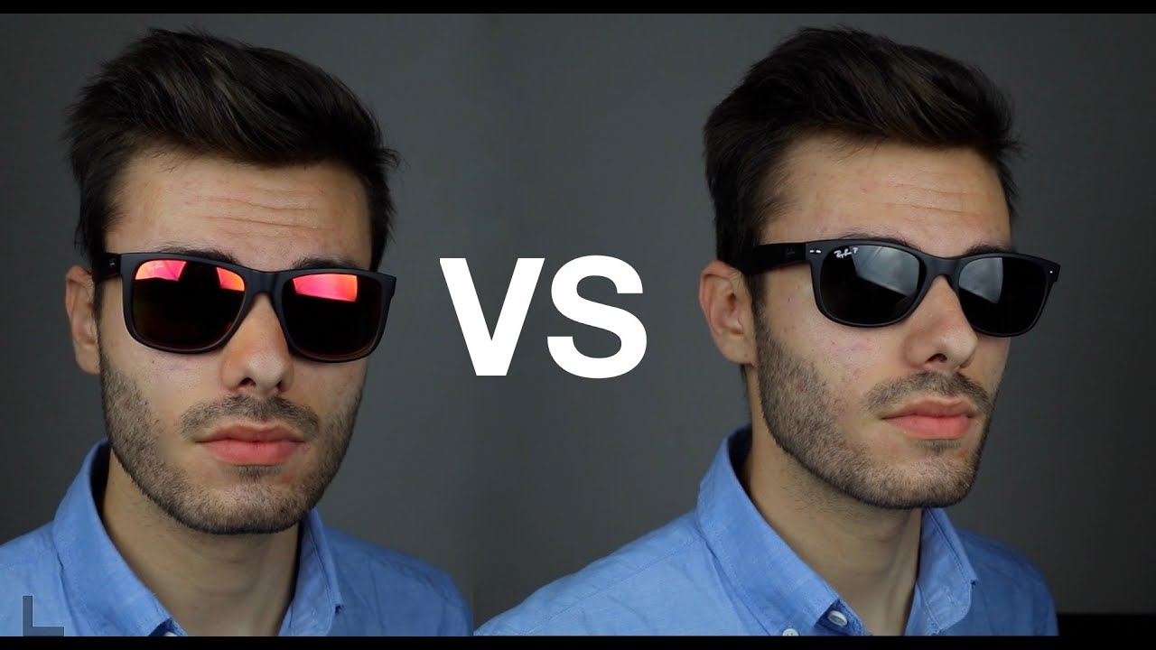 6f9348fe820 Ray-Ban Justin vs New Wayfarer - YouTube
