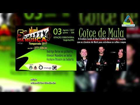 (JC 02/08/2017) Quinta da Boa Música recebe a banda Coice de Mula.