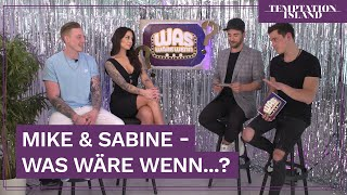 Sabine und Mike stellen sich den fiesen Fragen | Temptation Island