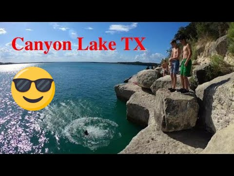 A day at Overlook Park - Canyon Lake, Texas