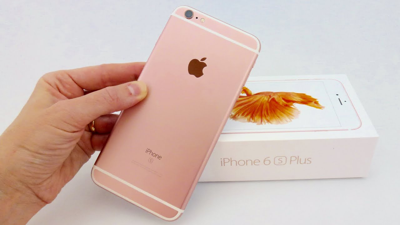 iphone 6 plus pink iphone 6s plus review pretty in pink 4069