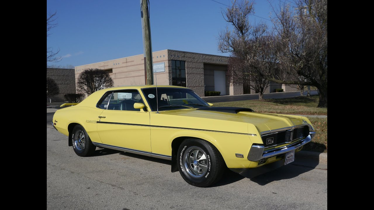 1969 mercury cougar eliminator    sold sold sold    youtube