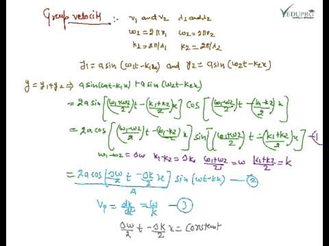 Group and phase velocity simulation dating 10