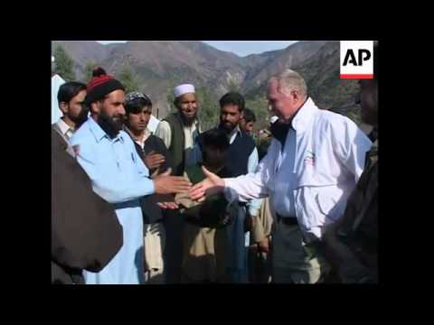 US Congress delegation visits field hospitals in quake zone