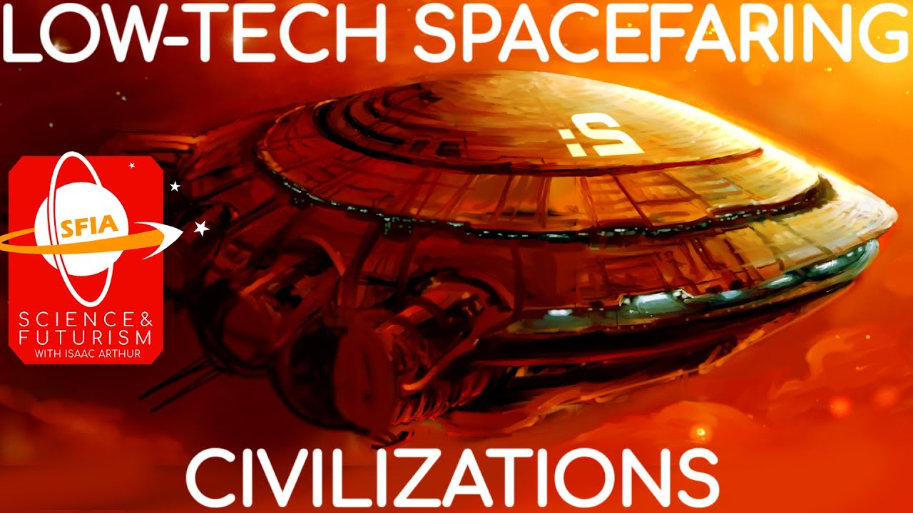Low-Tech Spacefaring Civilizations