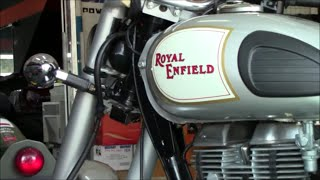 Picking up my new Royal Enfield Classic 350 (HD)