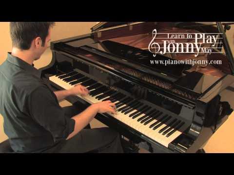 Cheek to Cheek - Ragtime Piano Arrangement by Jonny May (High Quality)