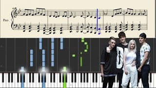 Clean Bandit - Tears - Piano Tutorial + Sheets