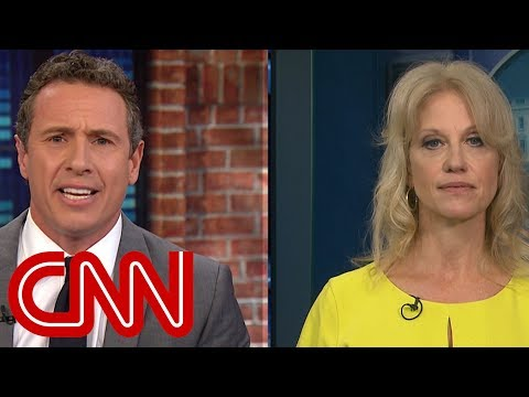 Kellyanne Conway, Chris Cuomo spar over Comey interview