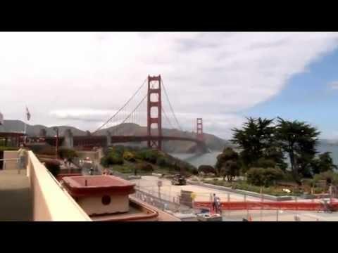 Golden Gate Bridge in San Francisco after 75 years by Vegas Bob