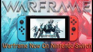 Warframe Now On Nintendo Switch