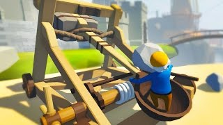 HUMAN CATAPULT | Human Fall Flat #2