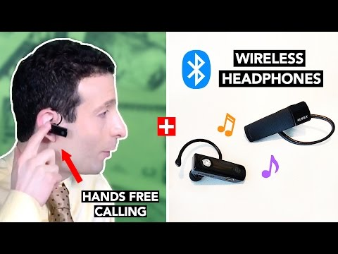 Best Bluetooth Headset + Wireless Headphones UNDER $15 - Review