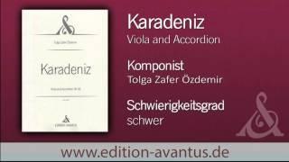 "Duo MARES plays Tolga Zafer Özdemir's ""Karadeniz"""