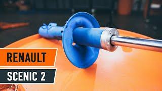 Montage RENAULT SCÉNIC II (JM0/1_) Bremssattel Reparatursatz: kostenloses Video