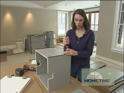 How to Assemble and Hang Storage Cabinets