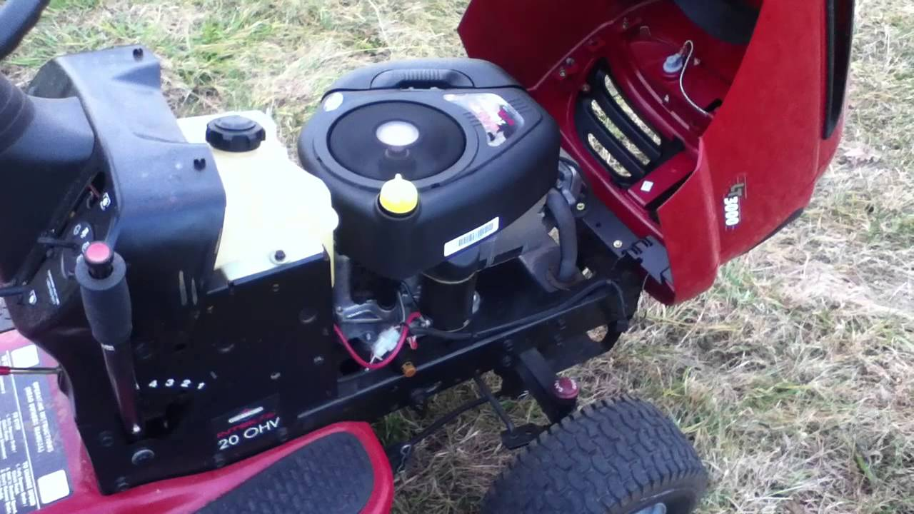 Craftsman Lawn Mower Wiring Diagram Nissan 350z Stereo Lt3000 Problem - Youtube