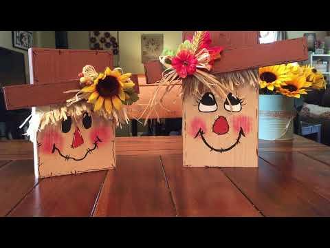Pinterest Inspired Scarecrow DIY