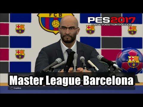 PES 2017 Master League FC Barcelona Transfer