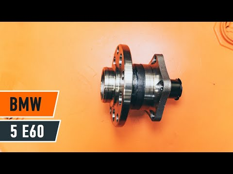 How to replace a rear wheel bearing on BMW 5 E60 TUTORIAL | AUTODOC