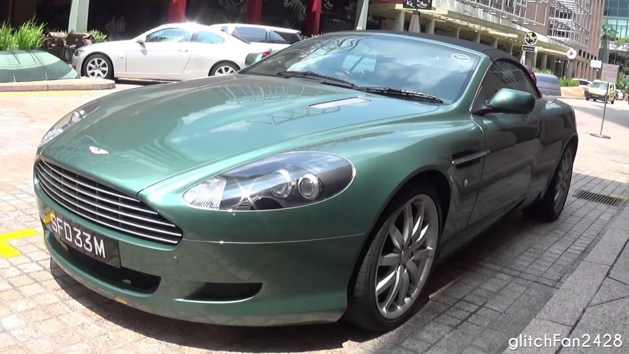 Appletree Green Aston Martin Db9 Volante Walkaround Youtube